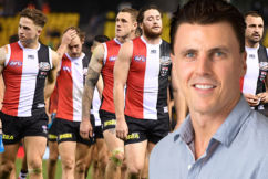 Matthew Lloyd shoots down St Kilda trade suggestion on Sportsday