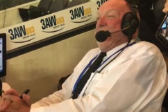 Rex Hunt's final phantom race call on 3AW!