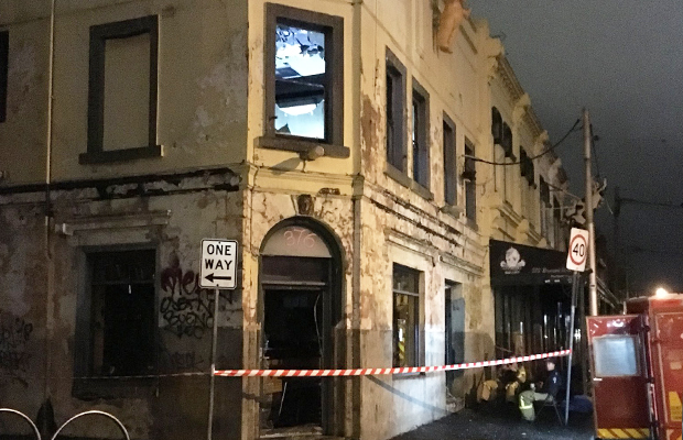 Article image for Popular Brunswick St pub, Bimbos Deluxe, gutted by fire