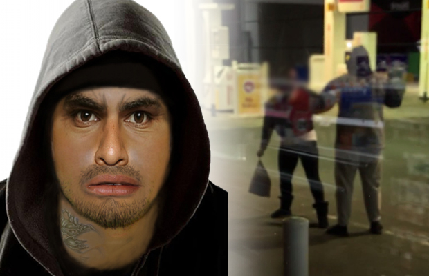 Article image for Police step up hunt for Braeside's servo pickaxe attacker