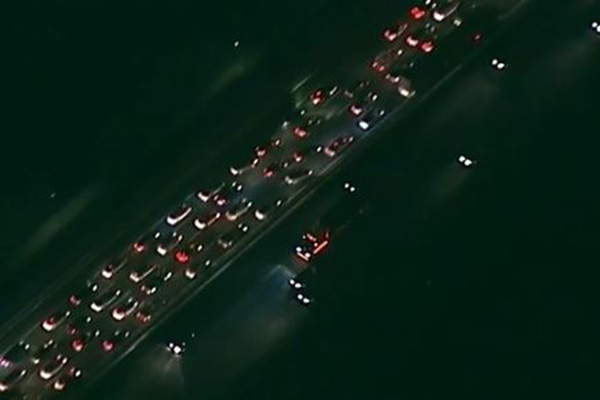 Article image for Eight car pile up at Laverton causes huge traffic backlog