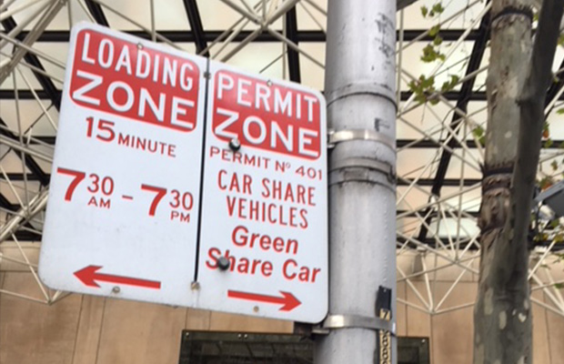 Article image for The 'share economy': Why you can expect a lot more of these signs in Melbourne