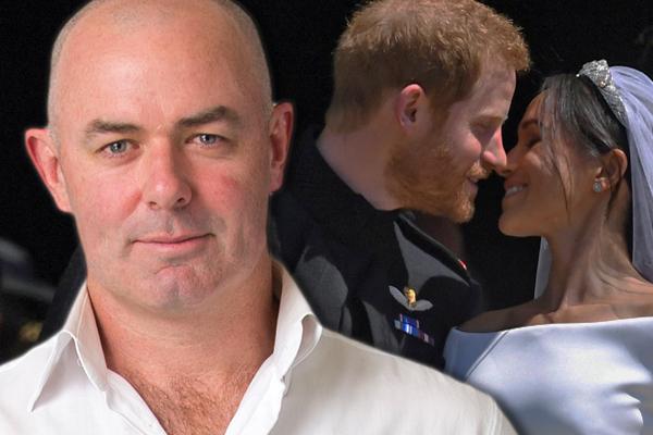 Article image for Daniel Harford's SHOCK royal wedding confession!