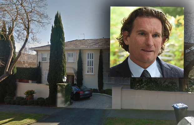 Article image for Teenage boy arrested and charged over home invasion at James Hird's