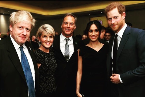 Article image for Julie Bishop tells Tom Elliott about meeting Meghan, and her hopes for the Royal Wedding