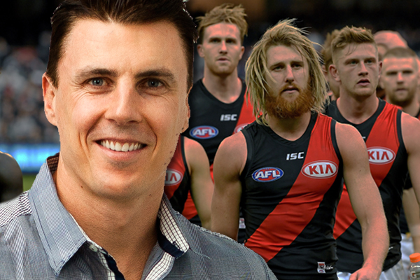 Article image for Essendon legend says the club's days as a 'great club' are over