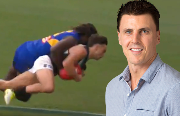 Article image for Matthew Lloyd says AFL is asking 'too much' of tacklers