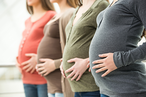 Article image for Pregnancy not to blame for long-term weight gain, study finds