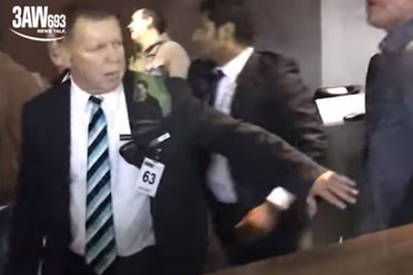 Article image for Etihad swings the axe on security staff following wild brawls