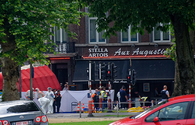 Article image for Two Belgium police officers killed in suspected Liege terror attack