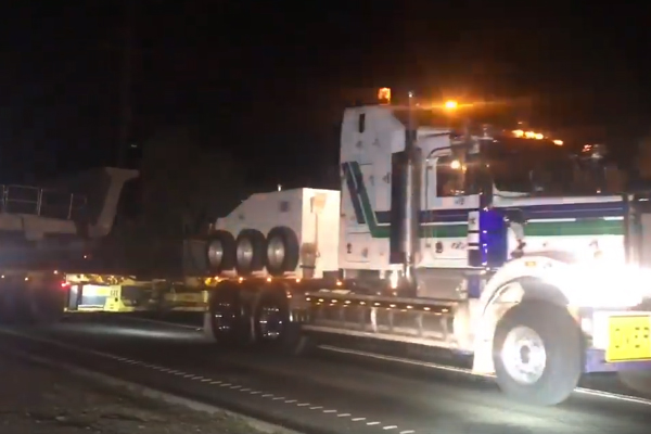 Article image for Video: Super slow superload causes early Peninsula Link delays