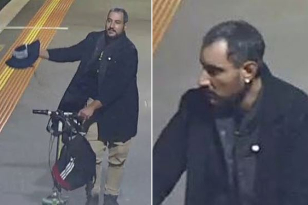 Article image for Man wanted after suspicious device left at North Melbourne station