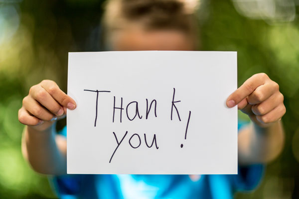 Article image for New study highlights why thank you isn't often necessary