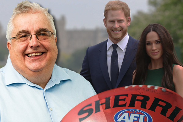 Article image for AFL meets royal wedding: Tony Leonard's 'royal' football team