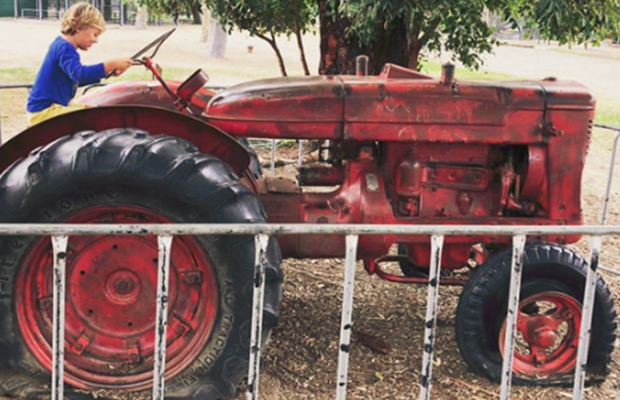 Article image for Popular primary school playground tractor 'too dangerous' for students