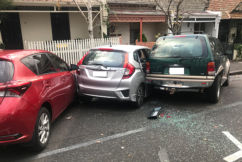 Several cars left smashed up after Richmond crash