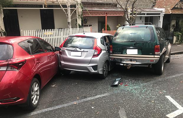 Article image for Several cars left smashed up after Richmond crash