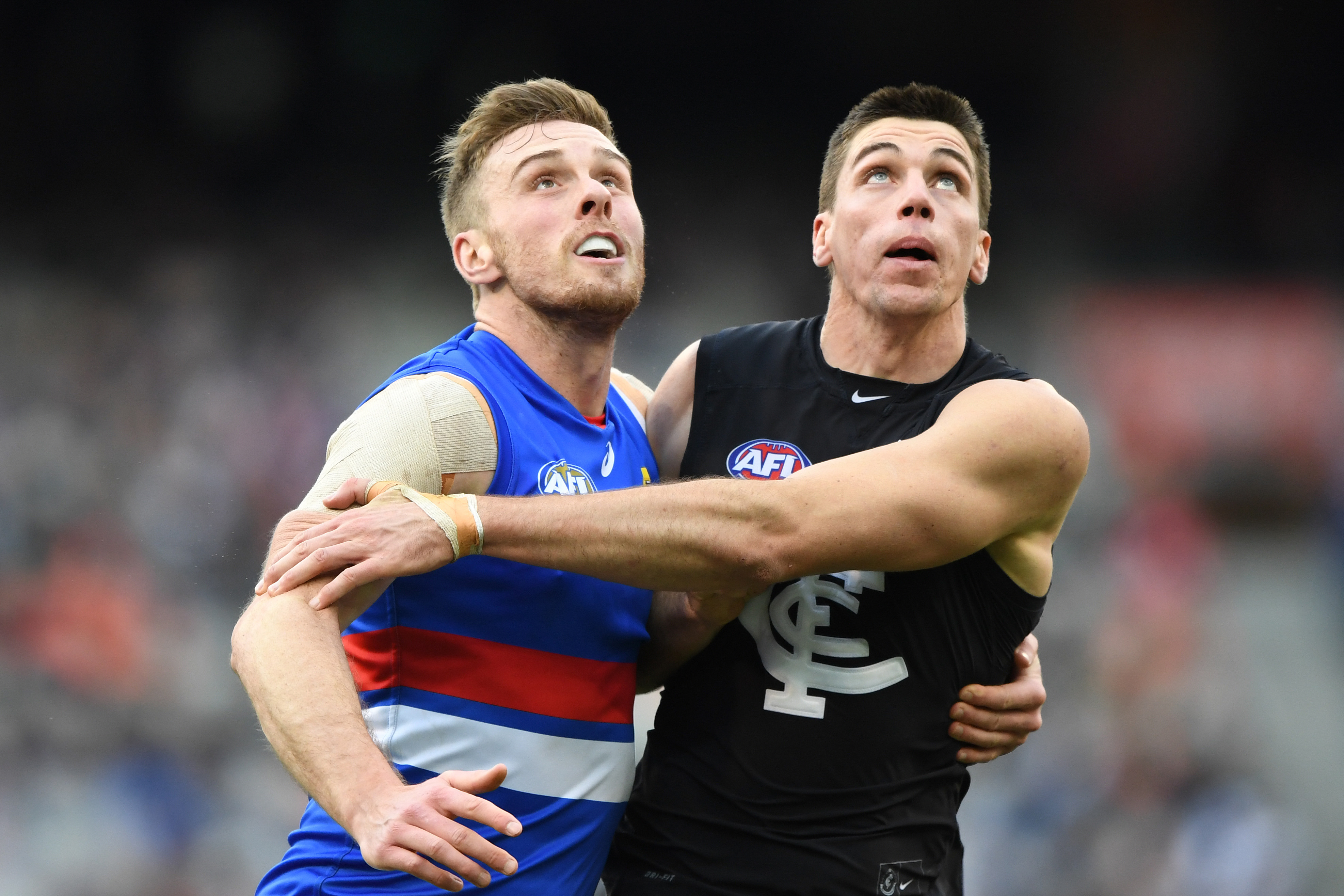 Article image for Warren Tredrea says the Bulldogs' ruckman 'will be elsewhere' in 2019