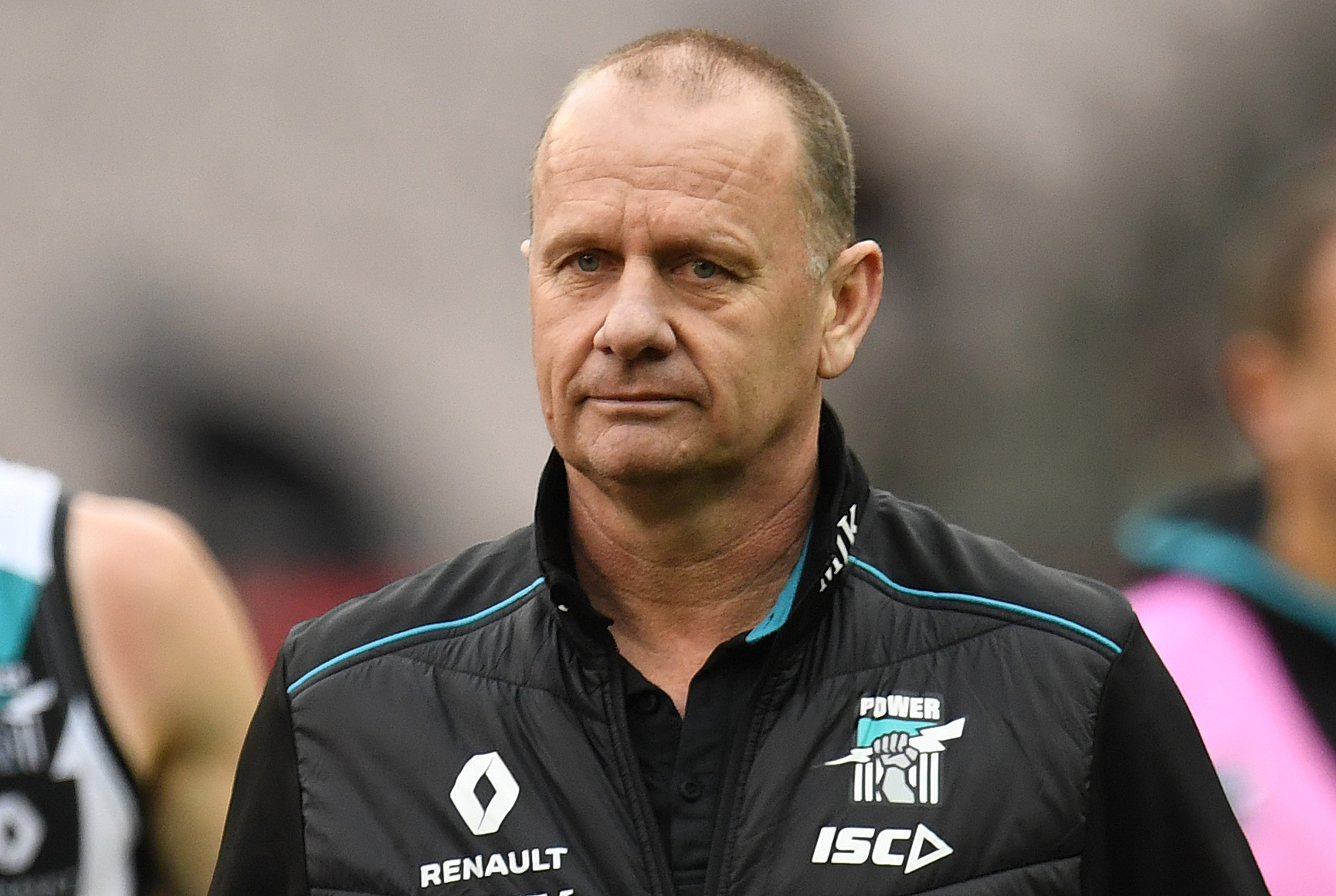 Article image for Power coach 'hasn't seen any issue' with four-umpire trial