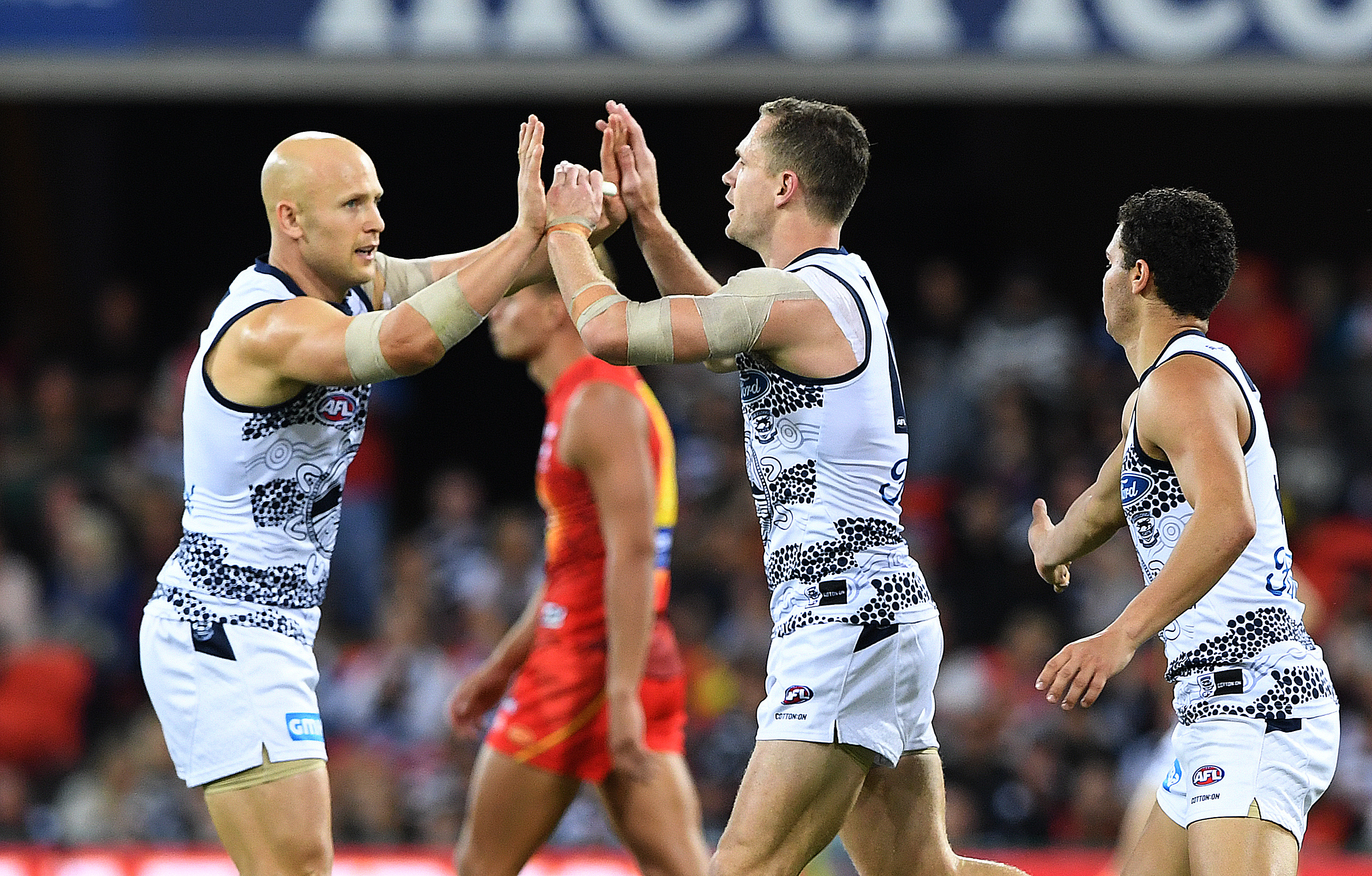 Article image for Geelong THUMP Gold Coast in their return to Metricon Stadium