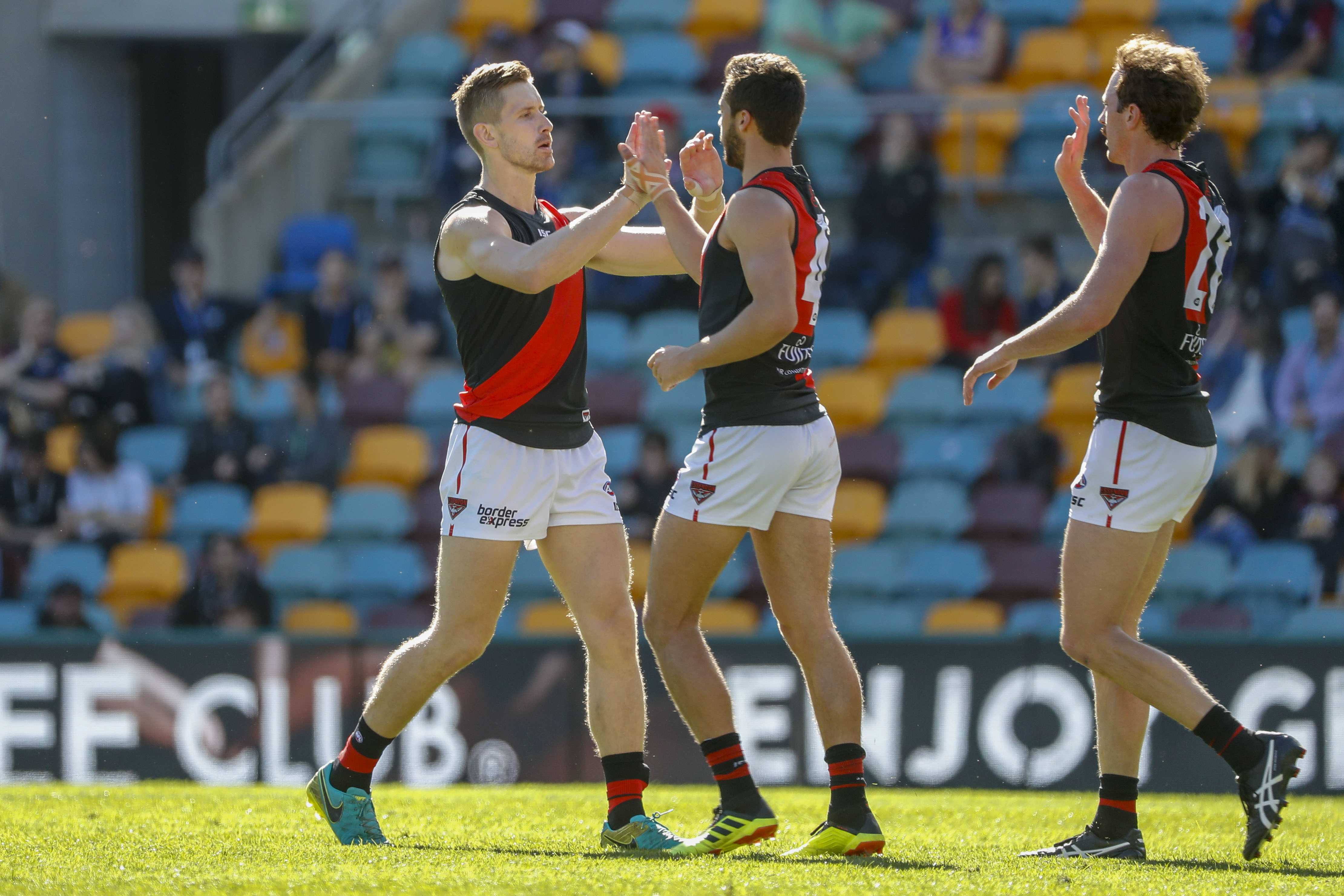 Article image for Heppell injured as Bombers reign in Brisbane
