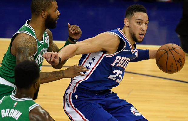 Article image for Ben Simmons creates basketball history by winning prestigious award