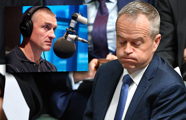 Article image for Tom Elliott's take on Bill Shorten's back down
