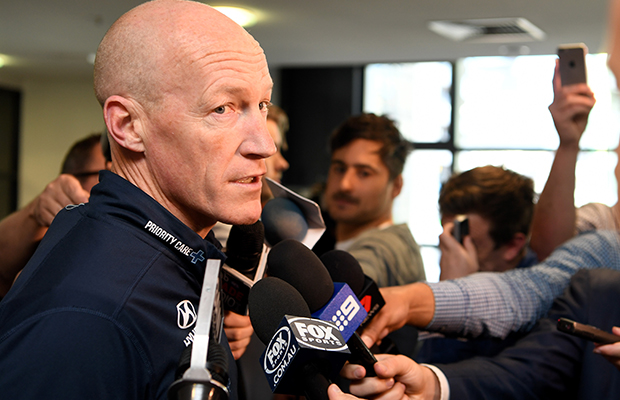 Article image for Carlton's head of footy announces resignation