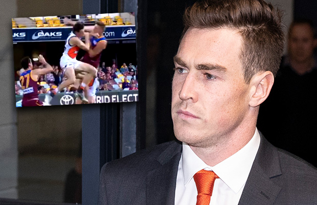 Article image for Jeremy Cameron handed massive ban for hit on Harris Andrews
