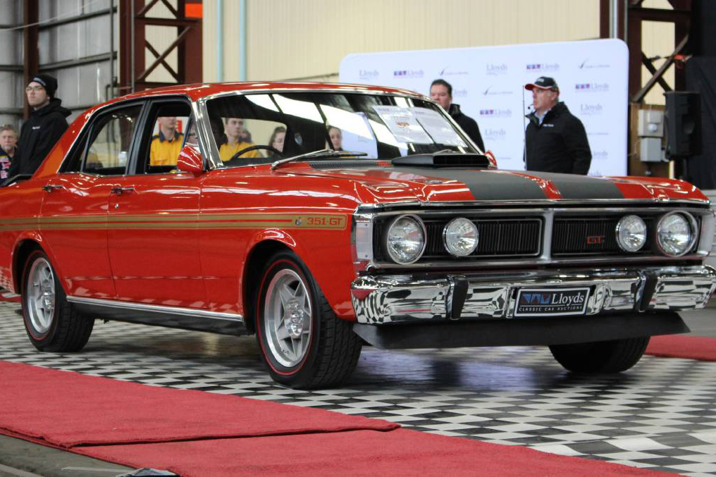 Article image for 'Holy grail' of Australian muscle cars sells for $1 million at auction