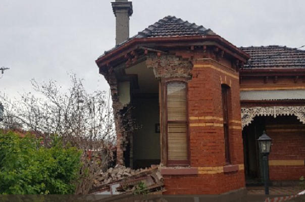 Article image for Car slams into Moonee Ponds house