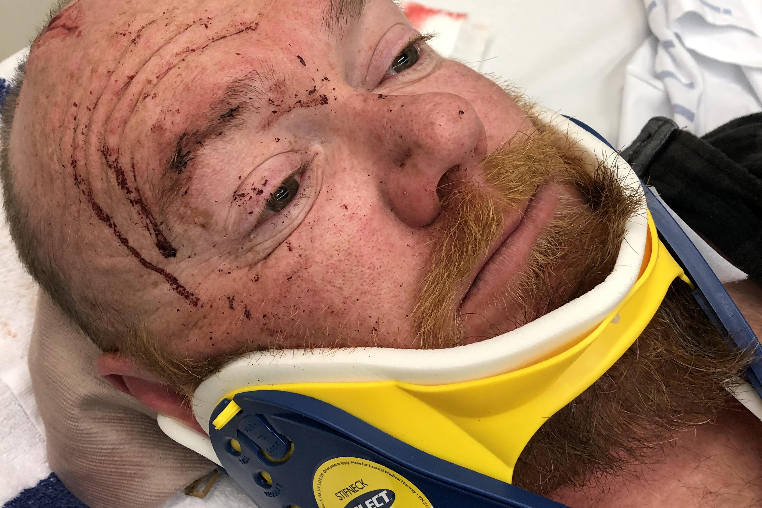 Article image for Off-duty police officer attacked after standing up for bus driver