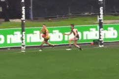 You need to see this goal from the VFL today!
