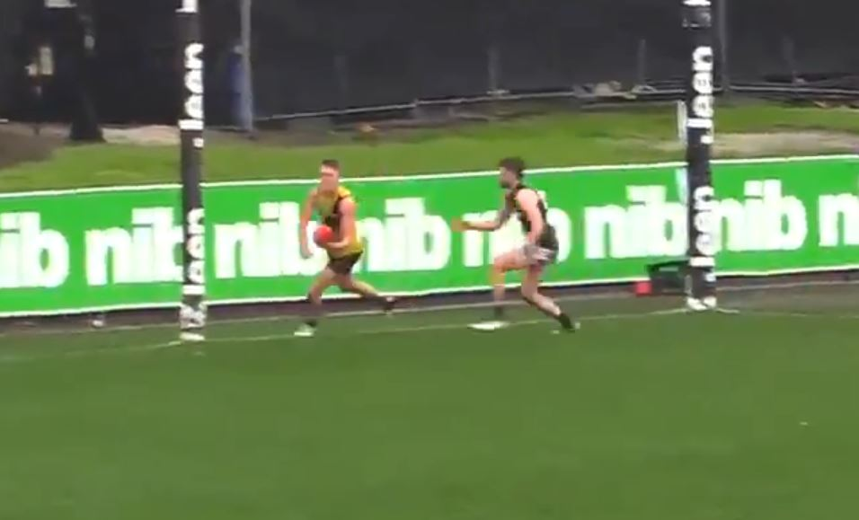 Article image for You need to see this goal from the VFL today!
