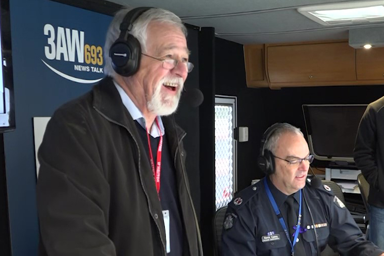 Article image for Neil Mitchell's morning at the Victoria Police Academy