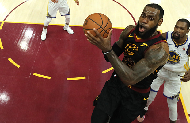 Article image for LeBron James WOW moment even leaves this non-basketball fan impressed