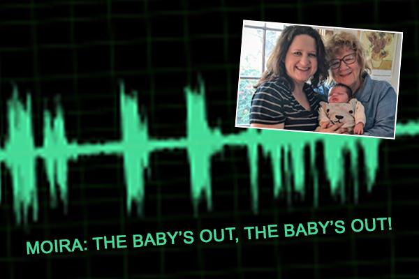 Article image for 'The baby's fine, mum's fine and grandma's surviving!': Moira's Triple Zero call