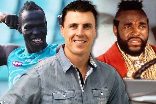 Article image for Matthew Lloyd just did an impression of Mr T and it's as magnificent as you think