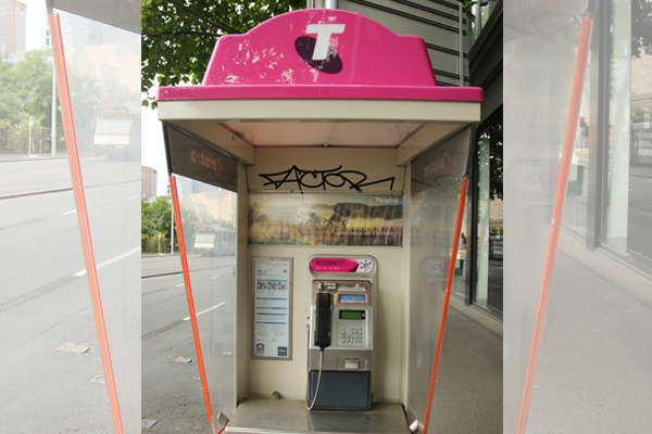 """Article image for St Kilda residents shocked at refusal to remove payphone dubbed """"uber for drugs"""""""
