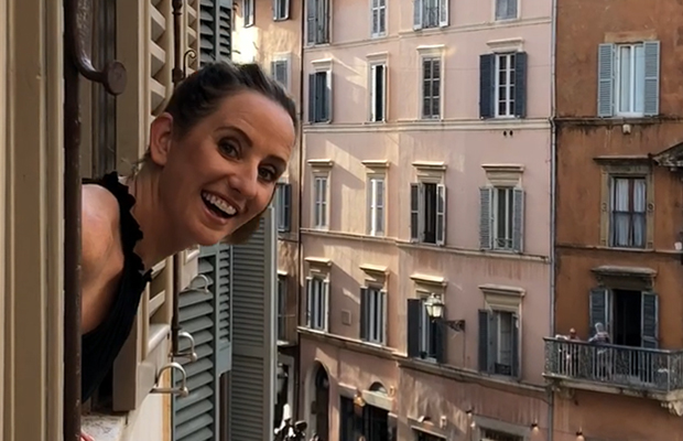 Article image for When In Rome: Kate Stevenson's THREE tips for the Italian Capital