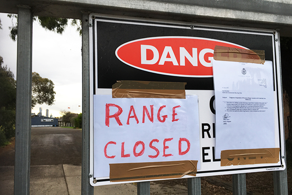 Article image for Port Melbourne shooting club shut down after reports of stray bullet