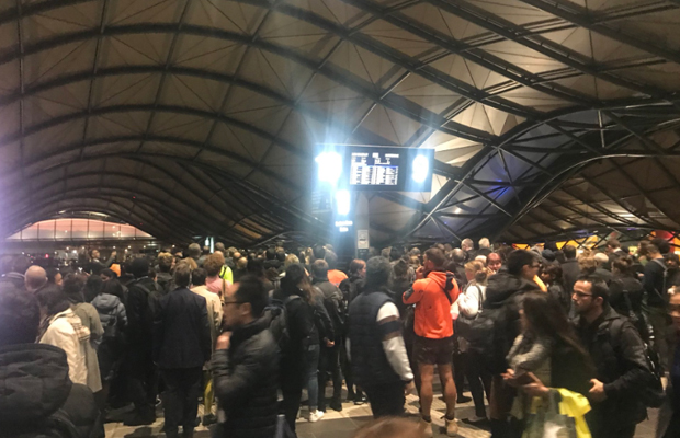 Article image for Faulty train sparks commuter chaos during peak hour