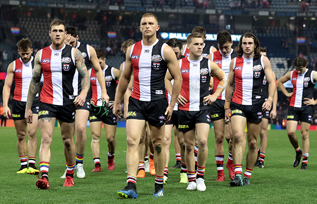 Article image for First off-field domino falls at struggling St Kilda