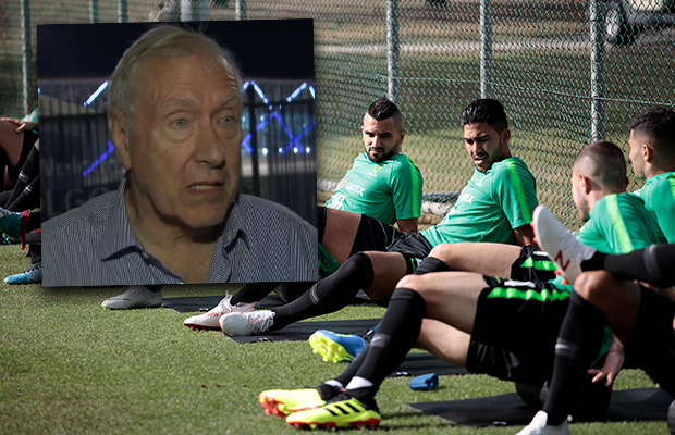 Martin Tyler's glowing endorsement of the Socceroos