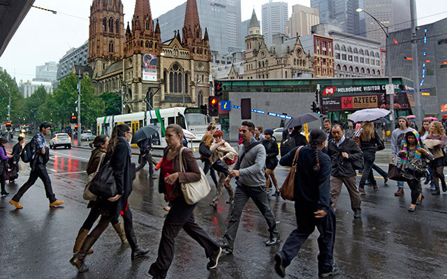 Article image for Narrow roads, speed limits slashed: Radical plans to drive cars out of CBD