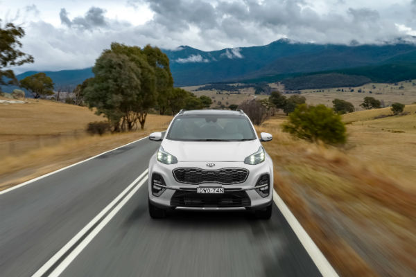 Kia's mid-sized Sportage SUV gets some updates