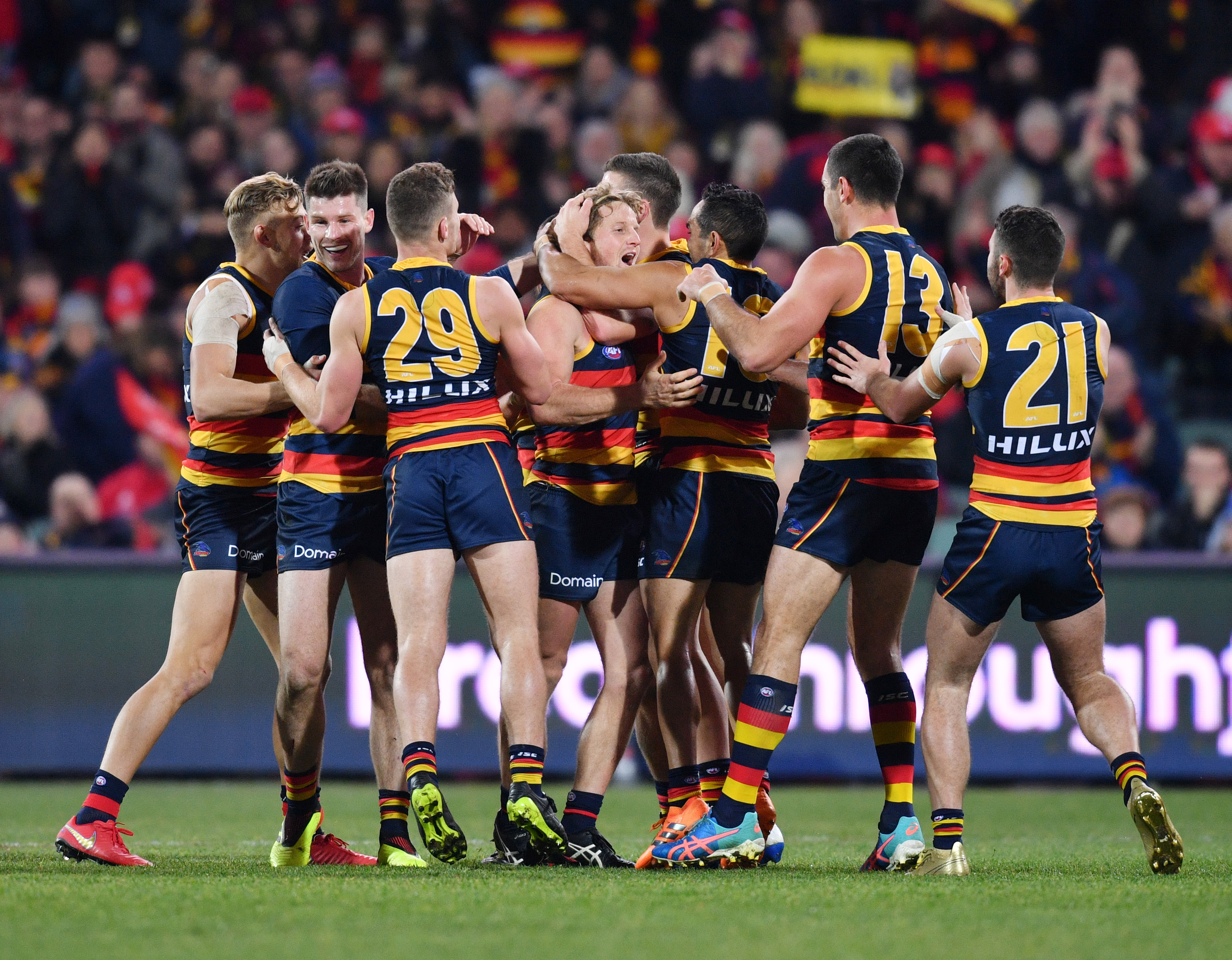 Article image for Adelaide cap off a great week with victory over Geelong