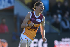Brisbane scores massive upset over Hawthorn to make it three in a row