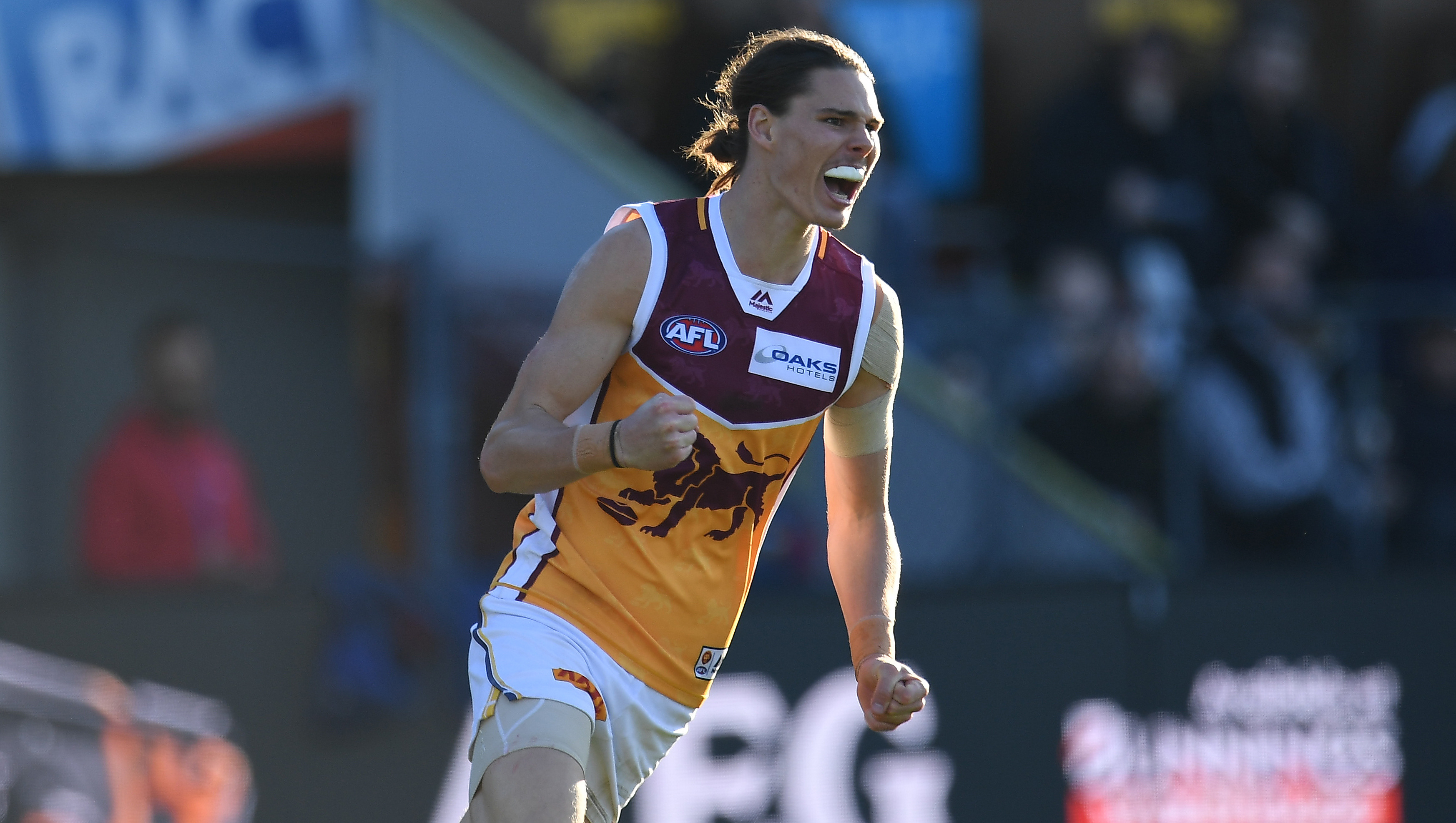Article image for Brisbane scores massive upset over Hawthorn to make it three in a row