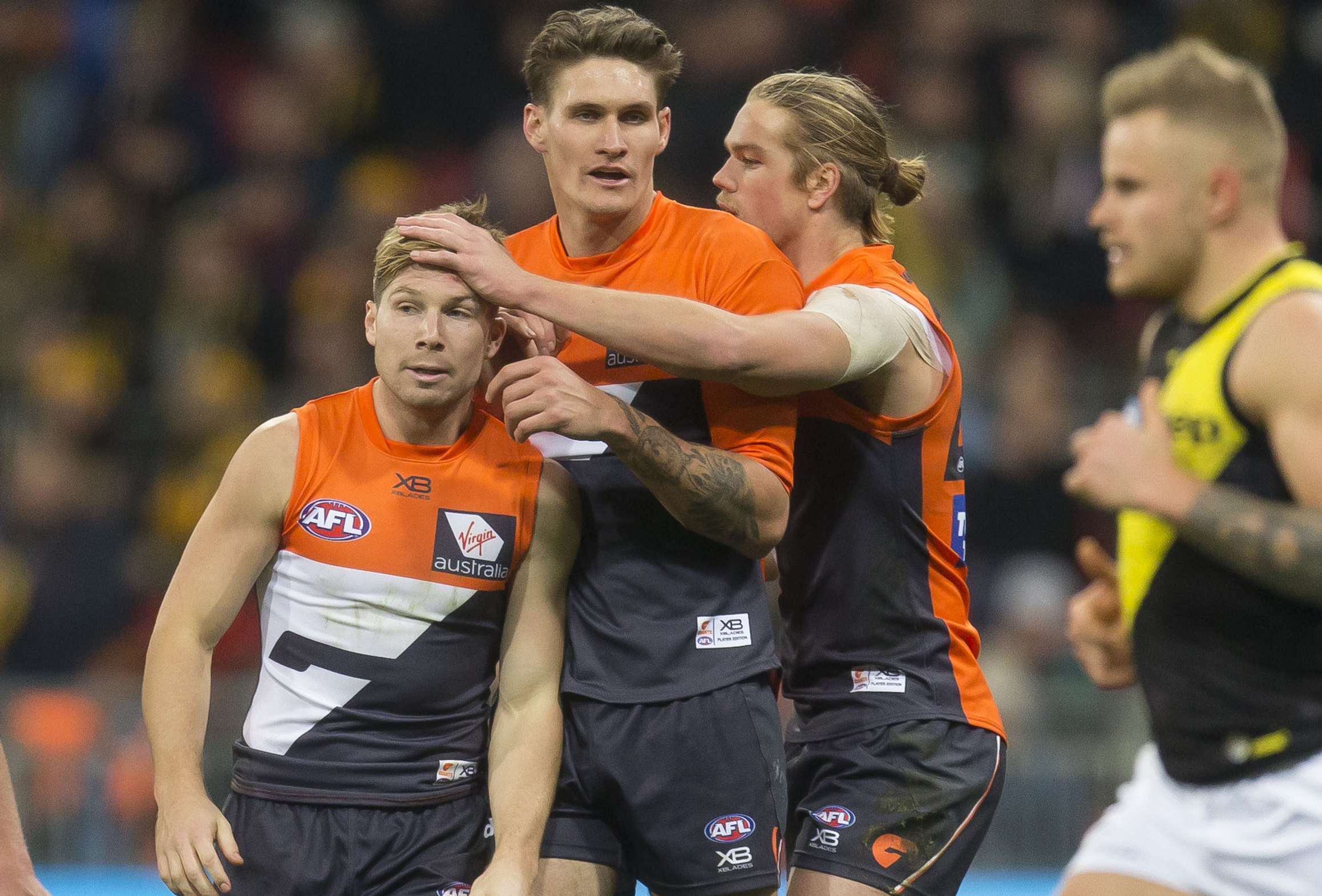 Article image for GWS pips Richmond in a thriller